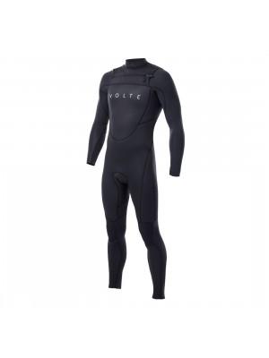 Combinaison de surf VOLTE Vital 4/3 Front Zip - Black