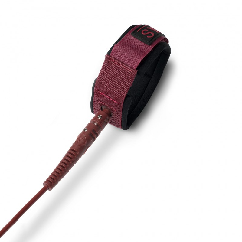 Sympl - 7' Pro leash - Burgundy Tonal