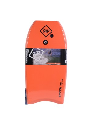 Bodyboard RIP - Ripper Stringer avec leash (EPS) - Orange / Blue