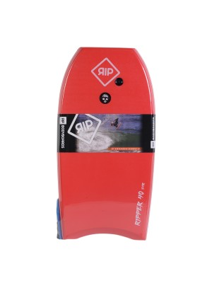 Bodyboard RIP - Ripper avec leash (EPS) - Red / White