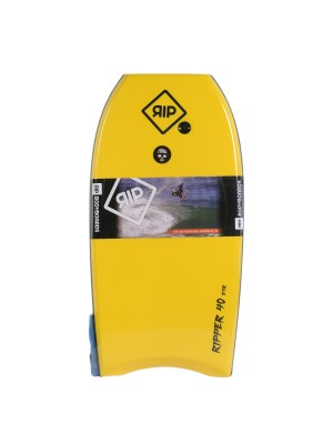 Bodyboard RIP - Ripper Stringer avec leash (EPS) - Yellow / Orange