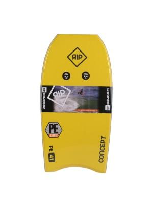 Bodyboard RIP - Concept (PE) Stringer - Yellow / White