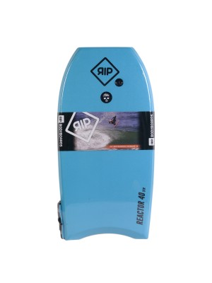 Bodyboard RIP - Reactor Stringer avec leash (EPS) - Blue / Orange