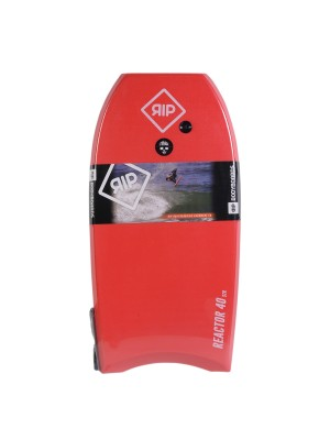 Bodyboard RIP - Reactor Stringer avec leash (EPS) - Red / White