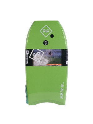 Bodyboard RIP - Reactor Stringer avec leash (EPS) - Green / White