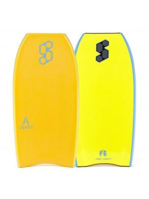 SCIENCE Bodyboard - Launch Tech CT (PE) - Tangerine / Fluoro Yellow