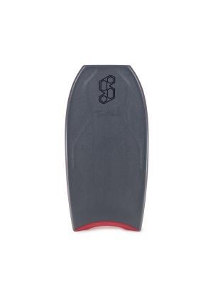 Science Bodyboard - Tanner NRG+ LTD - Tri Quad - Gun Metal / Red