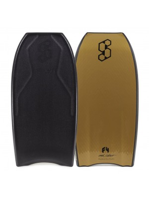Science Bodyboard - Tanner LTD PP Tri Quad - Black / Gold