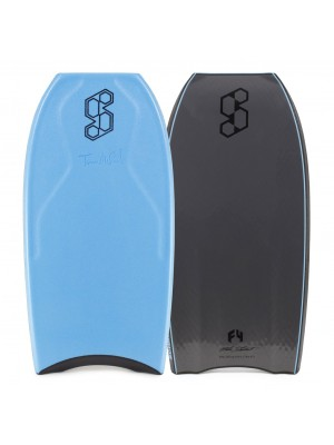Science Bodyboard - Tanner LTD PP Tri Quad - Aqua / Grey