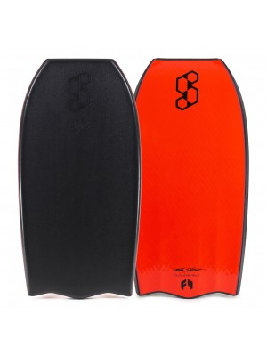 Science Bodyboard - Style Delta Quad Vent PP - Black / Red