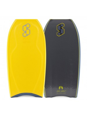 Science Bodyboard - Pro LTD (PP) - Tri Quad - Tangerine / Grey