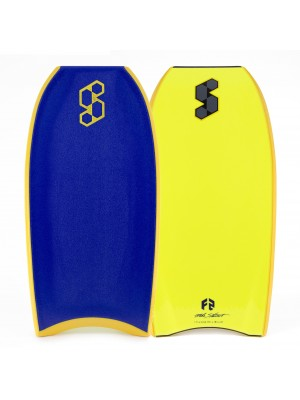 SCIENCE Bodyboard - Hybrid (PP) - Dark Blue / Yellow