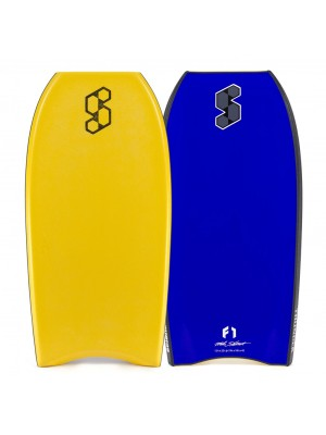 Science Bodyboard - MS Thunder 2x Stringers PP - Tangerine / Blue