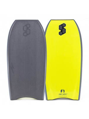 Science Bodyboard - Thunder XL 3x Stringers PP - Grey / Yellow