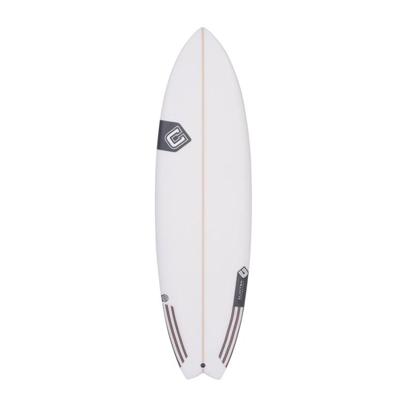 CLAYTON Surfboards - Makoi Fish (PU) Future - 5'10