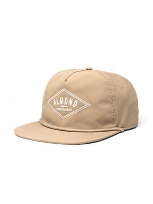 Almond - Decades Hat - Khaki