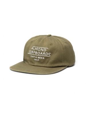 Almond - Costa Mesa Hat - Army