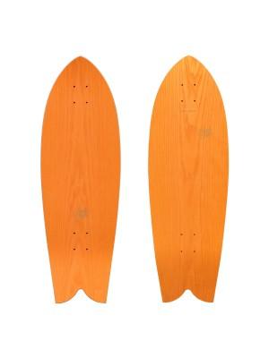 Sandy Shapes - Tropicale Surf Skate (Pack Complet) - Orange