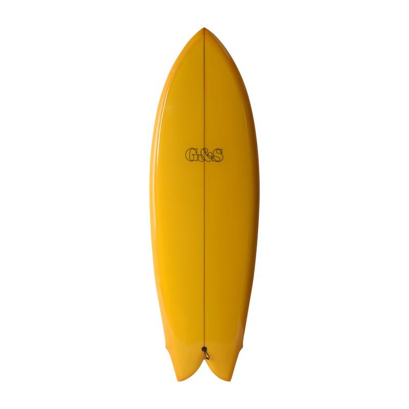GORDON & SMITH Star Fish 5'8 (PU) - Yellow