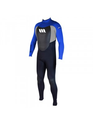 Combinaison de surf WEST NITRO 3/2mm back zip - Bleu Roi