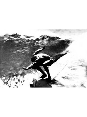 Photographie Surf Vintage JOHN SEVERSON 'Mickey Munoz The Quasimodo'