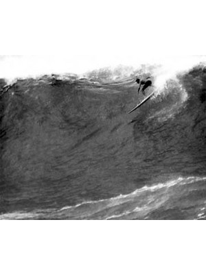Photographie Surf Vintage JOHN SEVERSON 'Van Dyke at Waimea 1959'