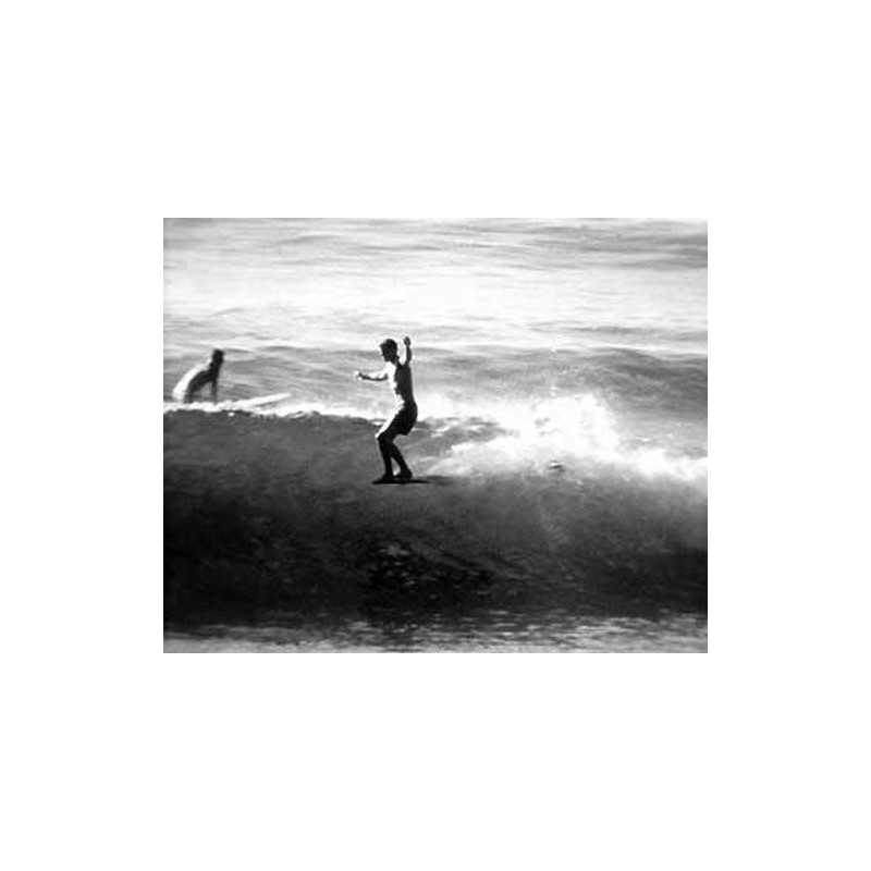 Photographie Surf Vintage JOHN SEVERSON 'Hang Ten'