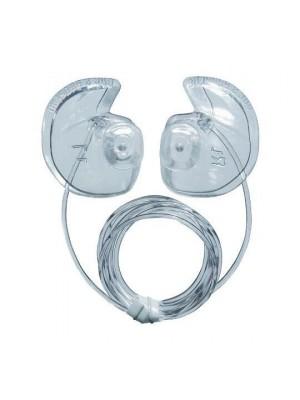 Bouchons d'oreilles DOC'S Proplugs avec leash - Ventilés