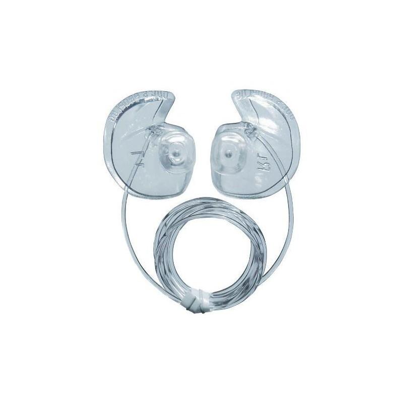 Protection auditive - Bouchons d'oreilles DOC'S Proplugs avec leash - ventilés