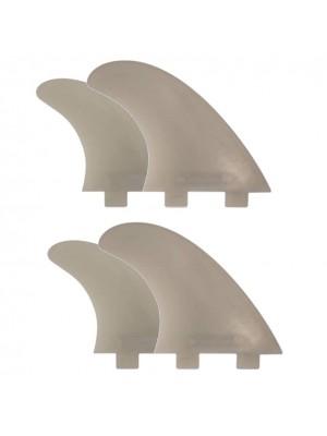 Set de 4 dérives SCARFINI Quad Composite (taille S/M) (FCS)