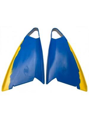 POD - PF3 - Palmes Bodyboard - Blue / Yellow