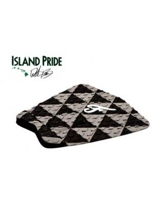 Traction Pad Surf FAMOUS Island Pride - Noir/Gris