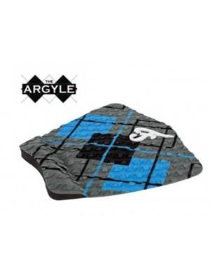 Traction Pad Surf FAMOUS Argyle - Charcoal/Bleu/Noir