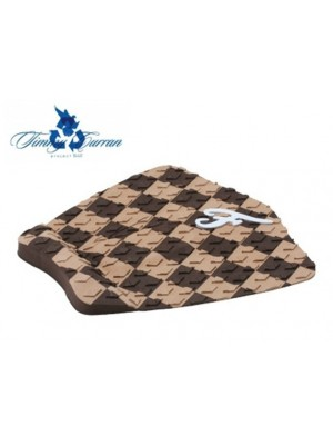 Traction Pad Surf FAMOUS Timmy Curran Eco - Marron