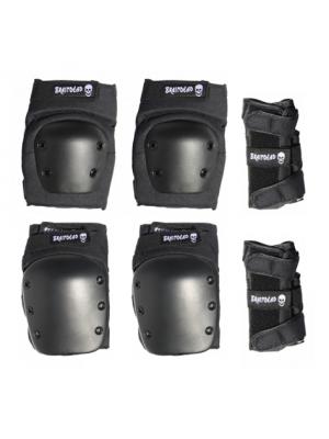 Protections BRAINDEAD pour Skateboard (pack complet 6 pièces)
