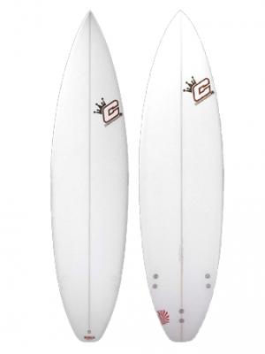 CLAYTON Surfboards - Supernova (PU) FCS - 5'7