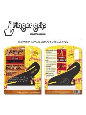 Support Mural horizontal FINGERGRIP Snow/Skate/Wake Rack Double