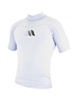 Lycra manches courtes WEST UV Flex Rashguard - White