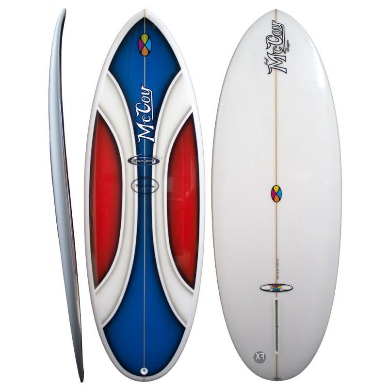 Planche de surf McCOY Surfboards Astron Zot XF technology (EPS Biax Epoxy)