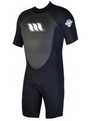 Combinaison de surf Enfant WEST Enforcer Kid Shorty 2/2mm back zip - Noir