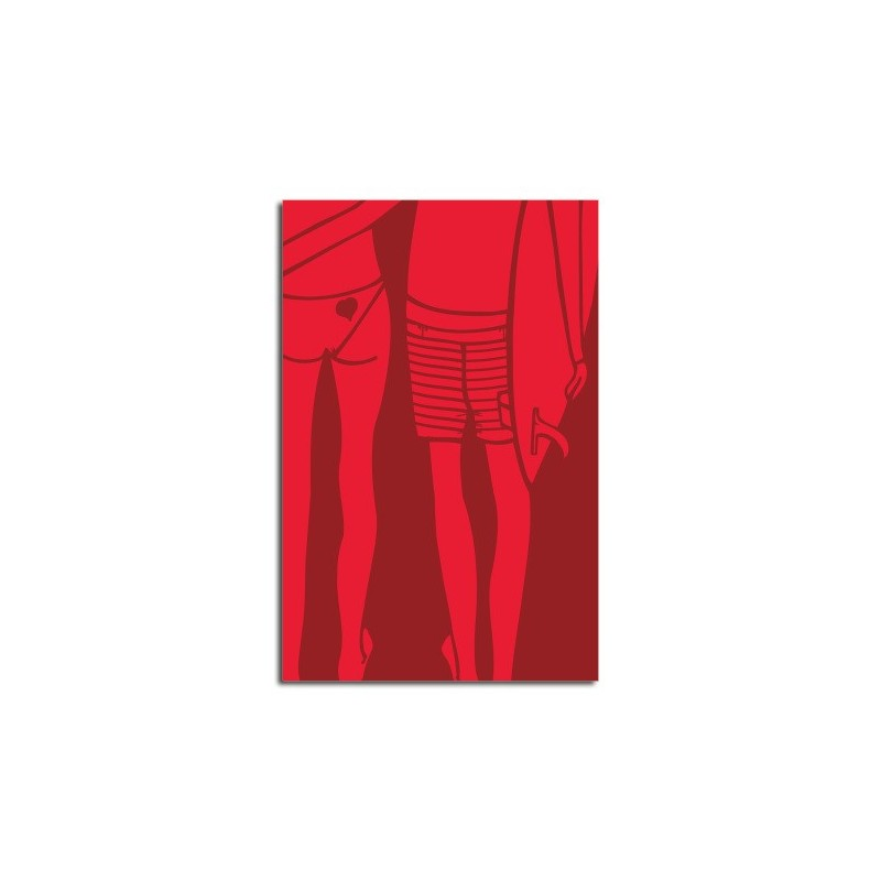 Lithographie ANDY DAVIS Red Summer Love large print