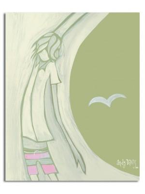 Giclée sur toile ANDY DAVIS Stretch Armlong