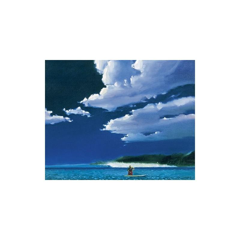 Lithographie KEN AUSTER 'Morning Sun & Surf'