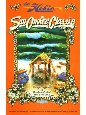 Affiche événement JOHN SEVERSON 'San Onofre Classic'