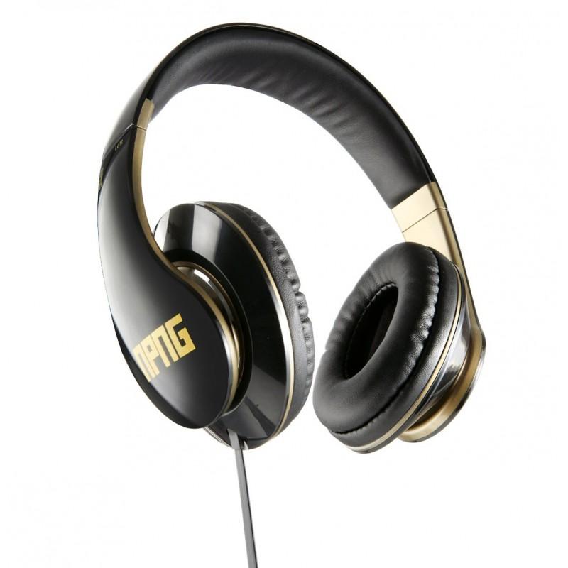 Casque audio stéréo réglable VEHO NPNG Headphones avec cable Flex anti-emmelement