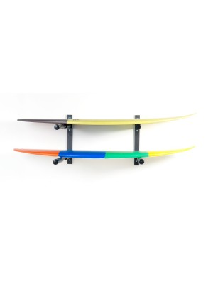 Support Mural SURF SYSTEM - Double Rack Shortboards, Longboards, SUP