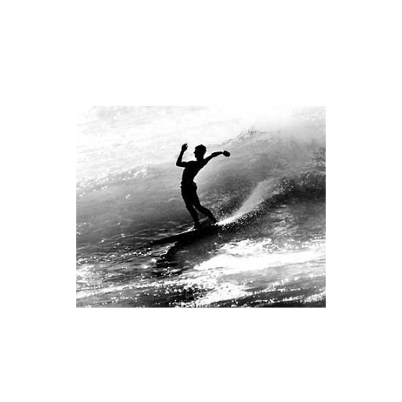 Photographie Surf Vintage JOHN SEVERSON 'Kemp Aaberg at Rincon 1959'