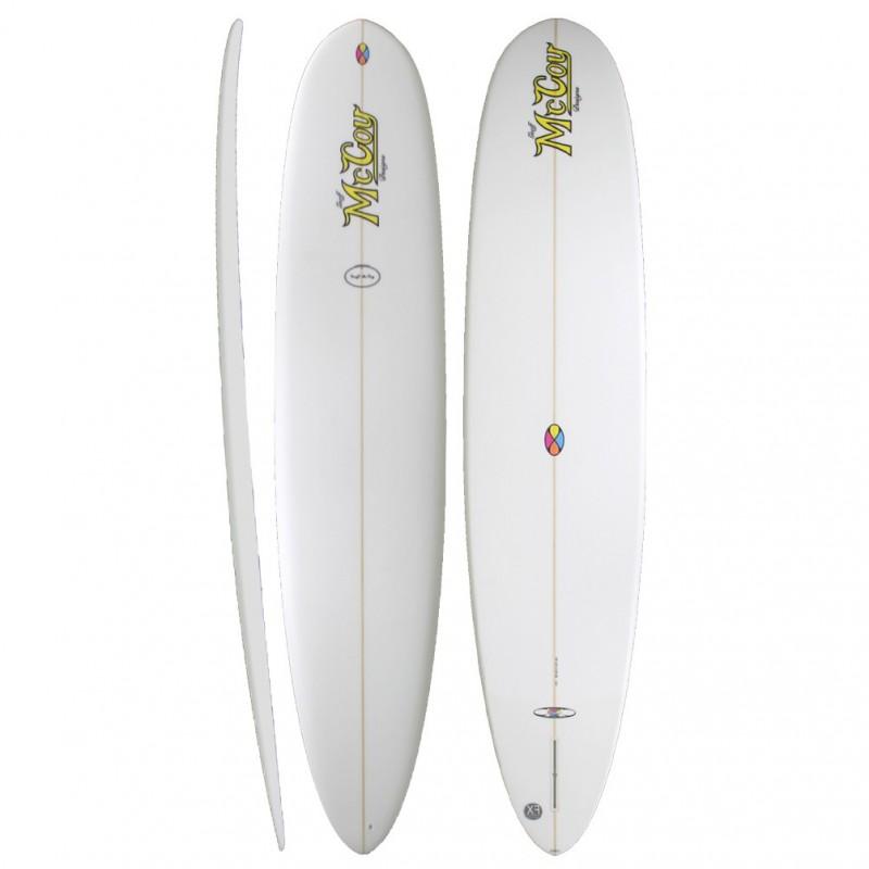 Longboard McCOY Surfboards All Round Mal clear (PU)
