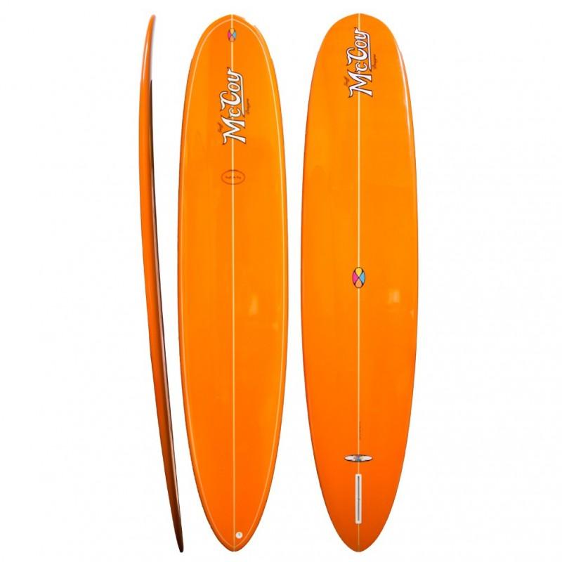 Longboard McCOY Surfboards All Round Mal orange (PU)