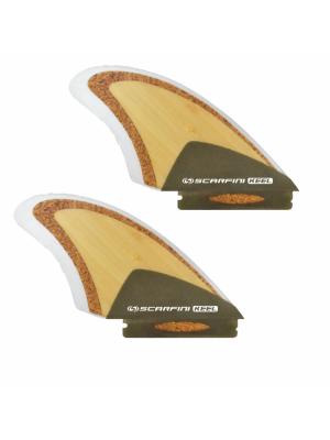 Set de 2 dérives SCARFINI FX Keel Twin Eco (Bambou/Liège/Chanvre) (Future)
